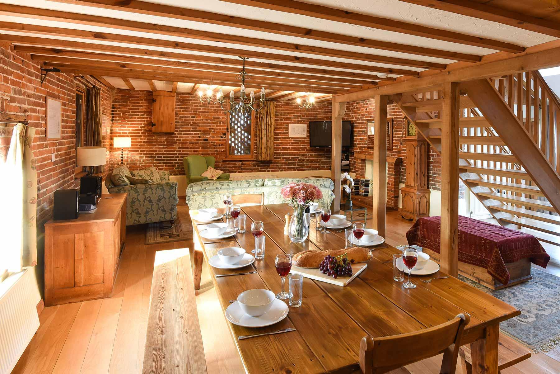 Old Nursery Farm Barns Norfolk Holiday Accommodation